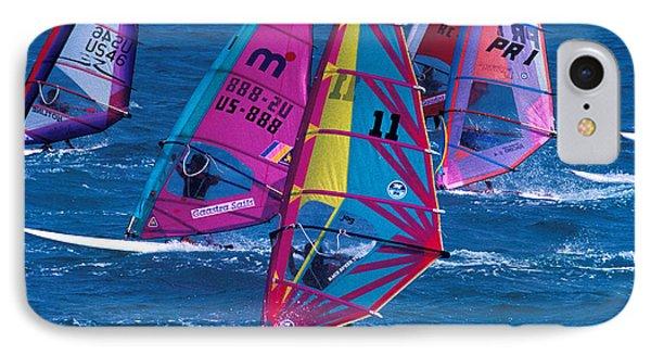 Wind Surfers In Nassau IPhone Case