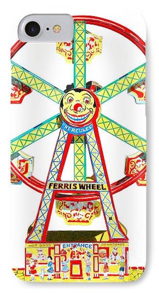Wind-up Ferris Wheel IPhone Case