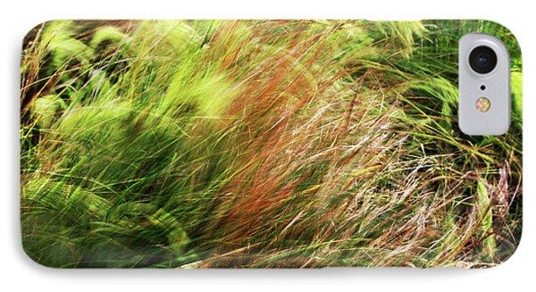 Windblown Grasses IPhone 7 Case by Nareeta Martin