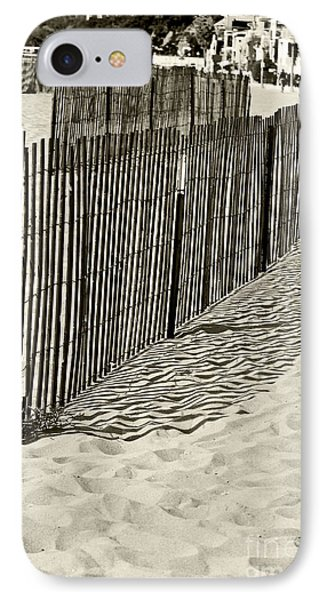 Windbreake On The Beach 2 IPhone Case by Micah May
