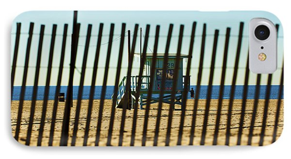 Windbreake On The Beach 3 IPhone Case by Micah May
