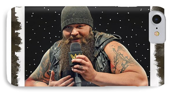 Windham Lawrence Rotunda Pro Wrestling Character Bray Wyatt IPhone Case by Jim Fitzpatrick