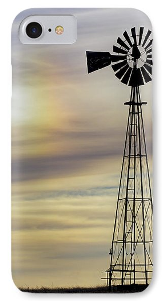 Windmill And Sun Dog IPhone Case