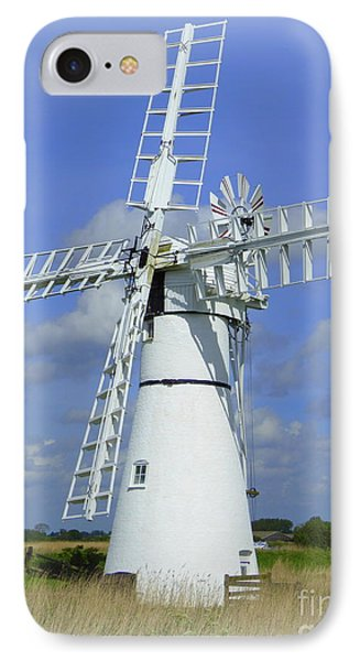 Windmill IPhone Case by Anne Gordon