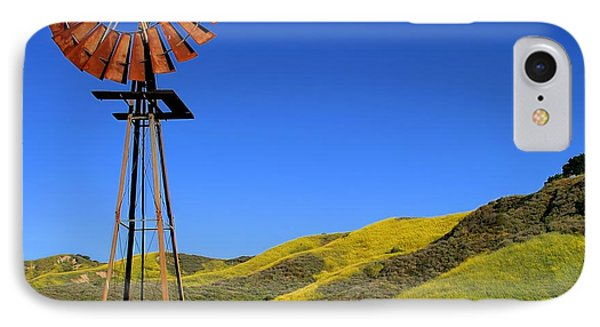 Windmill IPhone Case by Henrik Lehnerer