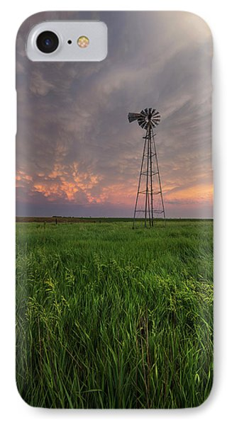 IPhone Case featuring the photograph Windmill Mammatus by Aaron J Groen