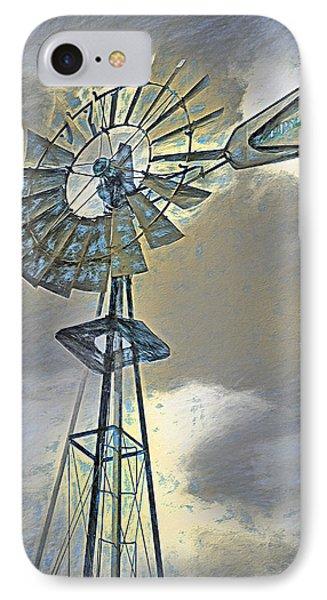 Windmill IPhone Case by Steve Ohlsen