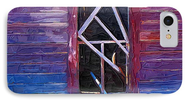 IPhone Case featuring the photograph Window-1 by Susan Kinney