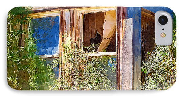 IPhone Case featuring the photograph Window 2 by Susan Kinney