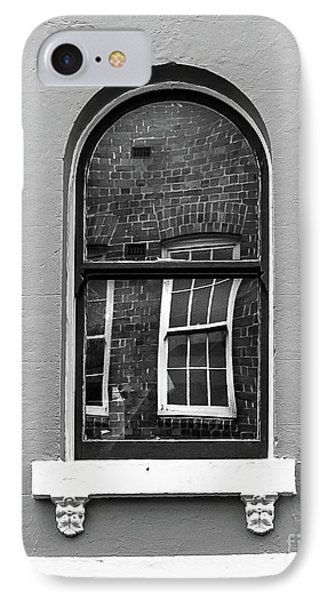 IPhone Case featuring the photograph Window And Window by Perry Webster