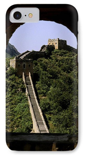 Window Great Wall Phone Case by Bill Bachmann - Printscapes