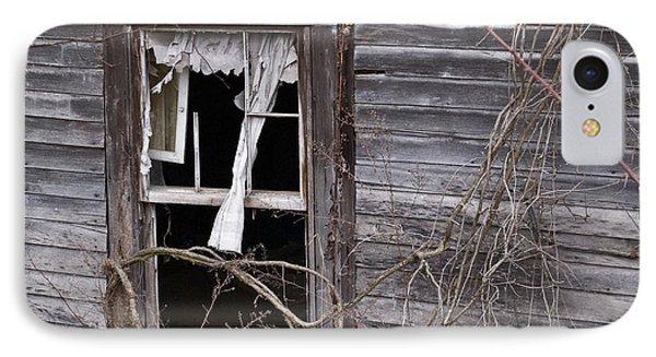 Window Of Loneliness IPhone Case by Douglas Barnett