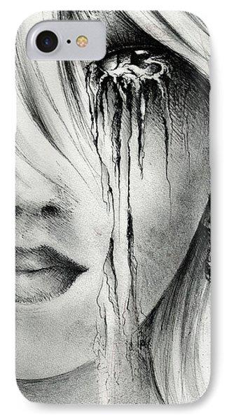 Window Of The Soul Phone Case by Rachel Christine Nowicki