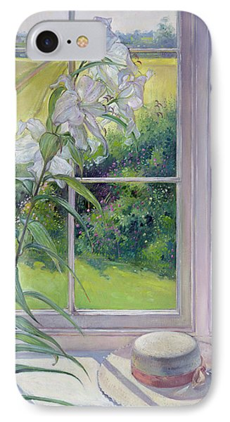 Window Seat And Lily IPhone Case