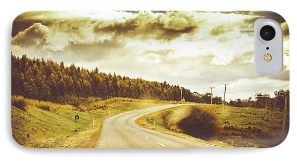 Window To A Rural Road IPhone Case by Jorgo Photography - Wall Art Gallery