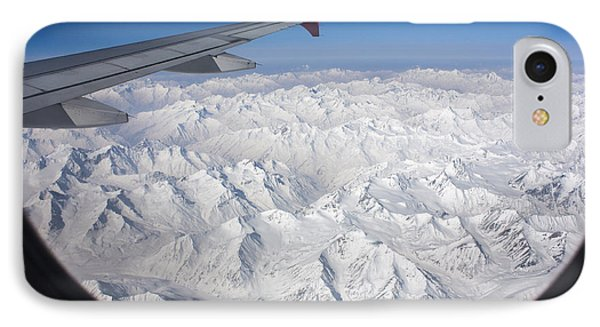 Window To Himalaya IPhone Case by Hitendra SINKAR