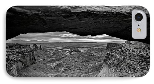 Window To The Canyon Below IPhone Case by Rick Berk