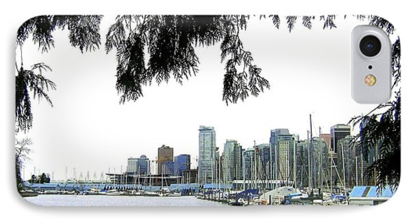 Window To The Harbor Phone Case by Will Borden