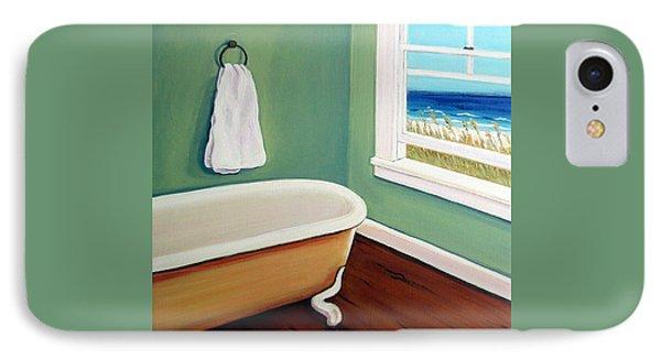 Window To The Sea No. 4 IPhone Case by Rebecca Korpita
