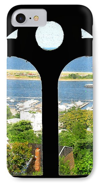 Window View Phone Case by Colleen Kammerer