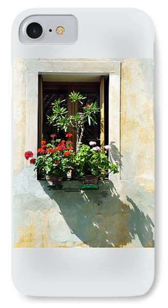 IPhone Case featuring the photograph Window With A Tree by Donna Corless