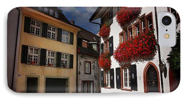 Windows Of Basel Switzerland  IPhone Case by Carol Japp