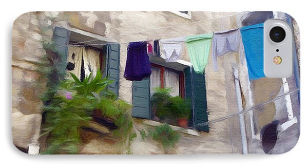 Windows Of Venice IPhone Case by Jeff Kolker