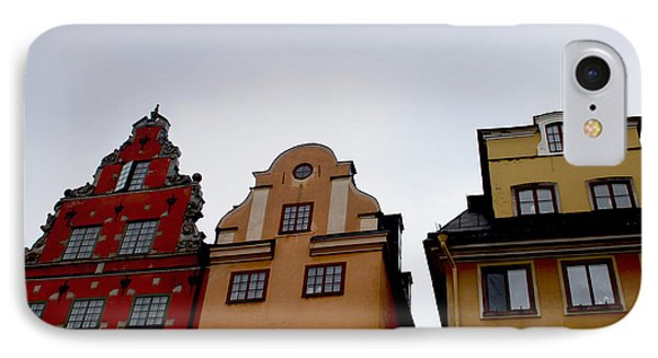 Windows On Gamla Stan IPhone Case by Linda Woods