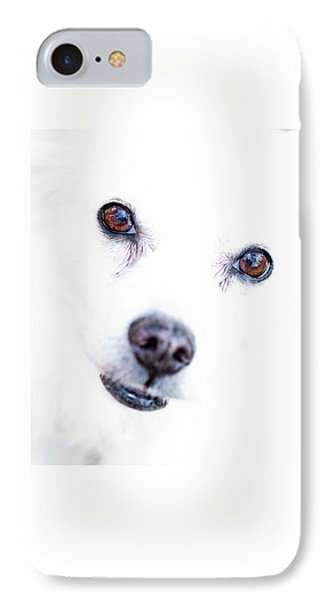 IPhone Case featuring the photograph Windows To The Soul by Lara Ellis