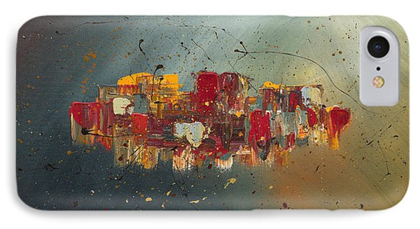 IPhone Case featuring the painting Winds Of Prosperity by Carmen Guedez
