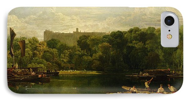 Windsor Castle From The Thames IPhone Case by Joseph Mallord William Turner