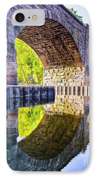 Windsor Rail Bridge IPhone Case by Tom Cameron