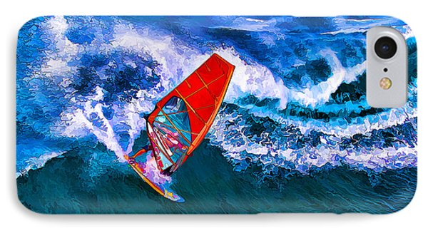 Windsurfer 1 IPhone Case by ABeautifulSky Photography