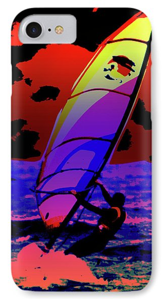 Windsurfer Phone Case by Brian Roscorla