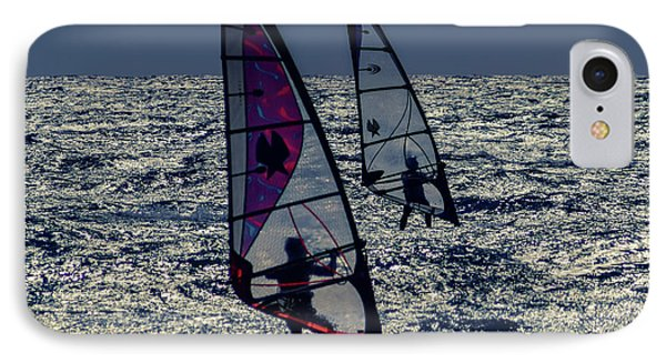 Windsurfers IPhone Case by Stelios Kleanthous