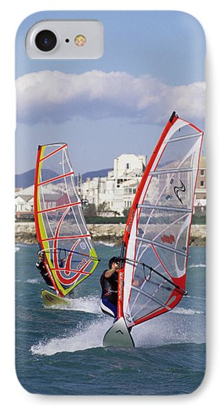 Windsurfing IPhone Case by Alexis Rosenfeld