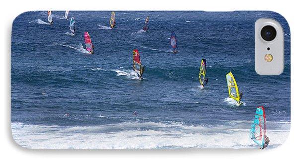Windsurfing In Maui Hawaii IPhone Case