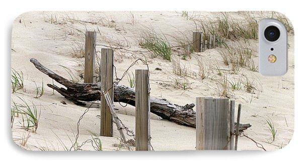 Windswept Beach Fence Cape Cod Massachusetts IPhone Case by Michelle Wiarda