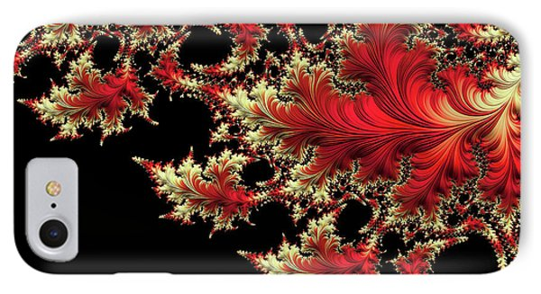 IPhone Case featuring the digital art Windswept by Susan Maxwell Schmidt