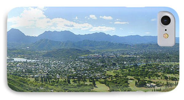 Windward Oahu Panorama I Phone Case by David Cornwell/First Light Pictures, Inc - Printscapes