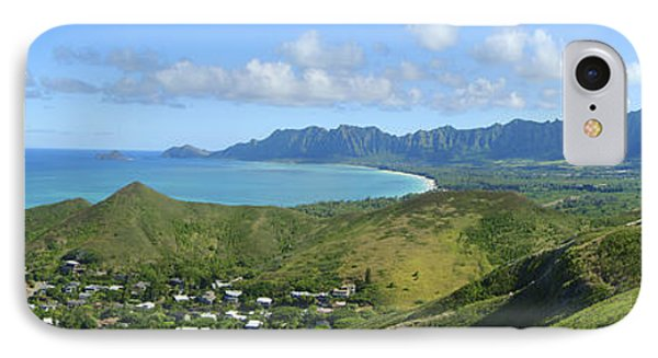 Windward Oahu Panorama IIi Phone Case by David Cornwell/First Light Pictures, Inc - Printscapes
