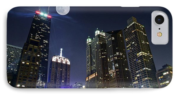 Wrigley Field iPhone 7 Case - Windy City by Frozen in Time Fine Art Photography