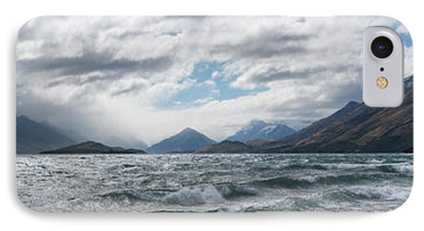 IPhone Case featuring the photograph Windy Day On Lake Wakatipu by Gary Eason