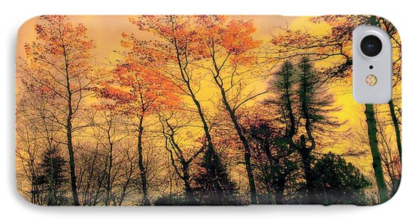 IPhone Case featuring the photograph Windy  by Elfriede Fulda