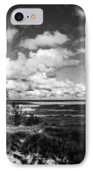 IPhone Case featuring the photograph Windy Morning On Lake Michigan by Michelle Calkins