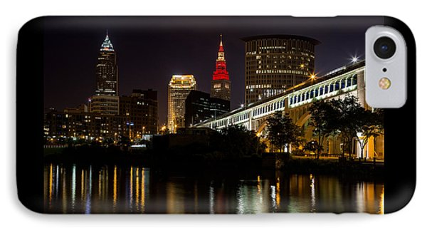 Wine And Gold In Cleveland IPhone Case by Dale Kincaid
