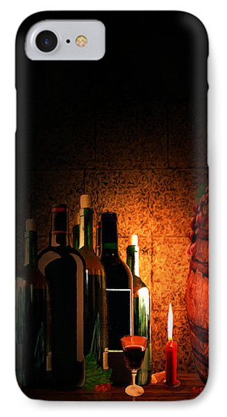 Wine And Leisure IPhone Case by Lourry Legarde