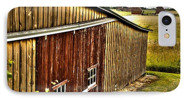 Wine Barn IPhone Case by William Norton