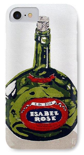 Wine Bottle Phone Case by Ron Bissett