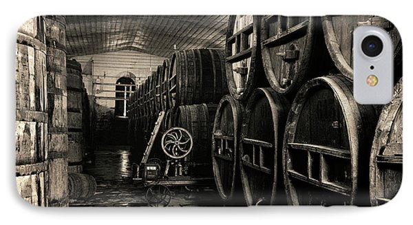 Wine Cellar 1939 IPhone Case by Daniel Hagerman